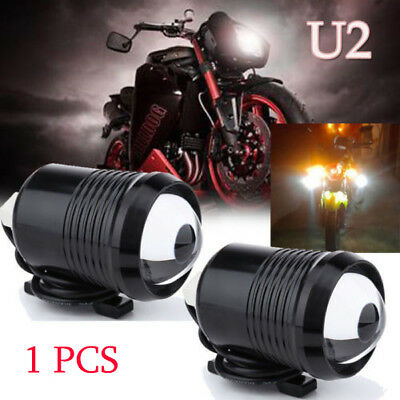 30W Motorcycle Projector Side Mounted Headlight High Low Beam Cafe Racer Project