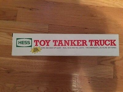 1990 HESS TANKER TRUCK  Never Removed From Box