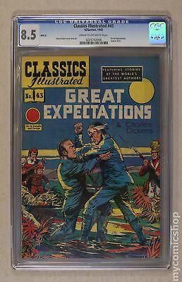 Classics Illustrated 043 Great Expectations (1947) #2 CGC 8.5 0225742006