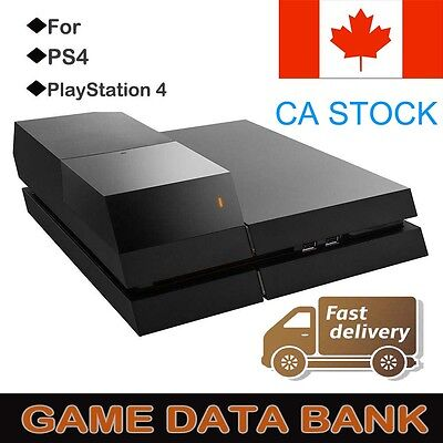"PS4 Data Bank Playstation 4 FOR 3.5"" Hard DIsk Drive Case Gaming LED Extra Ca"