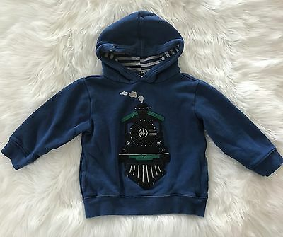 GYMBOREE All Spruced Up Boys Train Sweater Size 2T