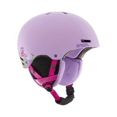 Helmet Anon Rime 2017 Kids Wildfire Purple