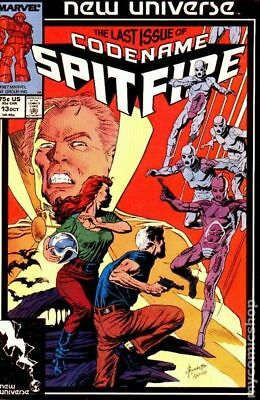 Spitfire and the Troubleshooters (1986) #13 VF