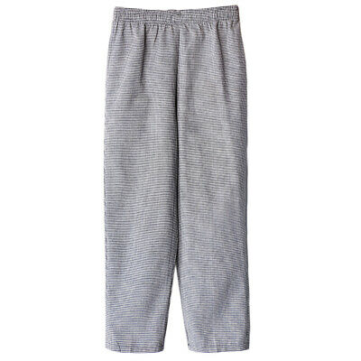 Mens Womens Baggy Kitchen Work Chef Pants Trousers Plus Size Workwear