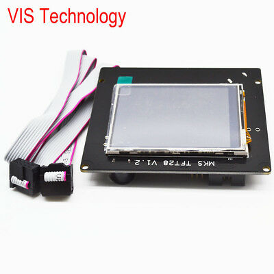 3D Printer 2.8 Inch Full Color Touch Screen LCD MKS TFT28 V1.2 For RAMPS1.4 MKS