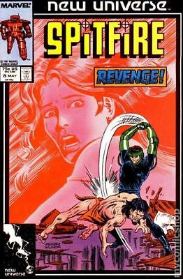 Spitfire and the Troubleshooters (1986) #8 VF