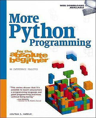 More Python Programming for the Absolute Beginner,PB,Harbour, Jonathan S. - NEW