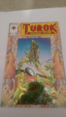 TUROK Dinosaur Hunter #1, 2 & 3 (1993) VALIANT COMICS BART SEARS & BERNARD CHANG