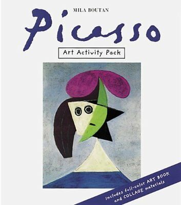 Art Activity Pack: Picasso,PB,Mila Boutan - NEW