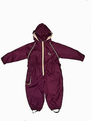 Hippychick Waterproof All-In-One *Burgundy sand* RRP £20.00