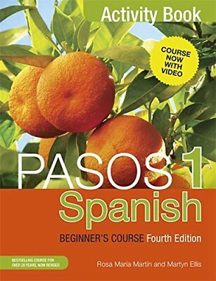 Pasos 1 (Fourth Edition): Spanish Beginners Course: Activity book,PB- NEW