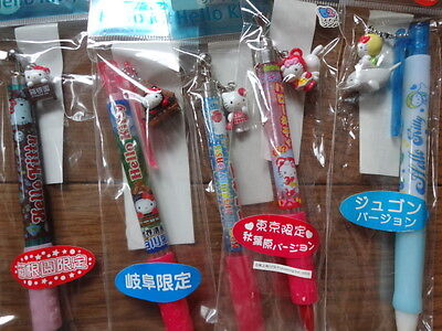 Hello Kitty 5 Gotochi Mechanical Pencil Set by Sanrio Japan Limited Set 23