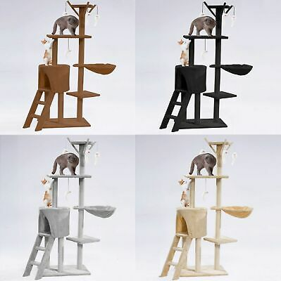 Cat Tree Scratching Climbing Post ladder Jumping Sleeping Pet Kitten Play Toy