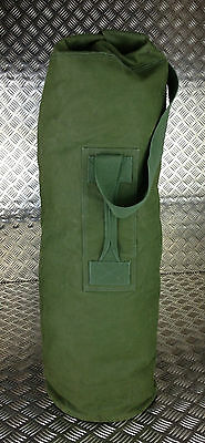 Genuine British Army Green Canvas Kitbag / Duffle Bag / Seasack - Grade 2