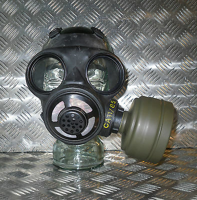 Genuine German M65 Green Gas Mask Replacment Sealed FILTER ONLY -  Brand New
