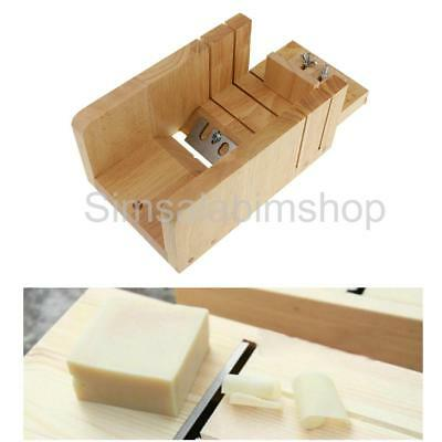 Practical Wooden Loaf Soap Cutter Soap Making Trimming Supplies Arts Crafts