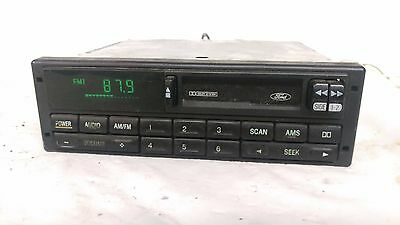 Ford OEM cassette player RADIO 90 91 92 93 94 95 96 Bronco Escort Mustang F150