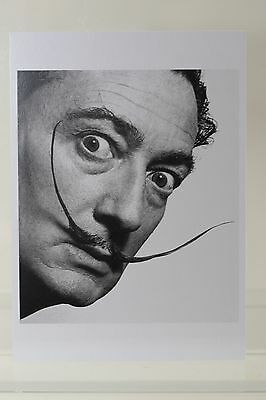 Salvador Dali: But don't try..., 1954 by Philippe Halsman  Kunst-Postkarte