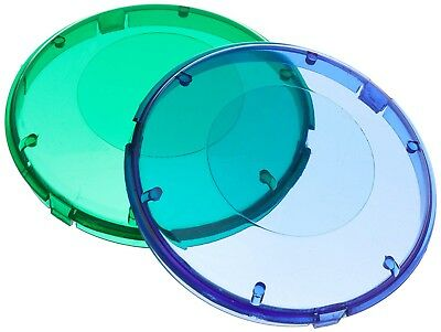 Pentair 619551 Blue and Green Plastic Lens Cover for AquaLuminator Pool Light
