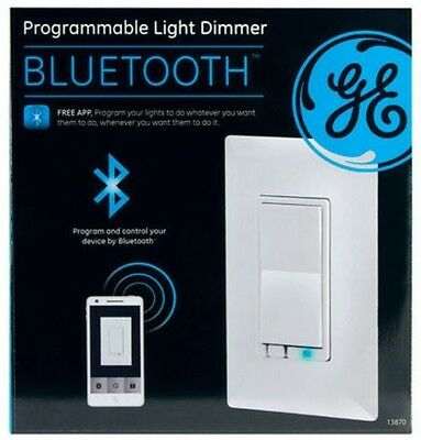 new ge 13870 bluetooth r in wall smart dimmer cad picclick ca. Black Bedroom Furniture Sets. Home Design Ideas