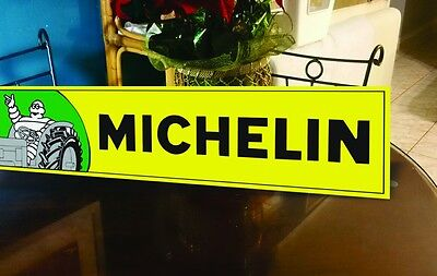 Michelin Man Tractor sign