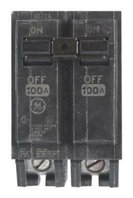 GE THQL21100 Double Pole Circuit Breaker, 100 Amp, 2""