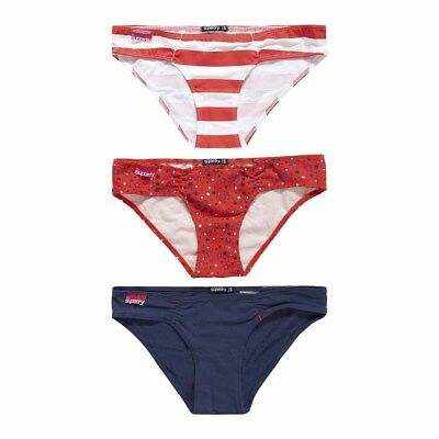 Superdry Super Standard Brief Triple Pack Ropa interior