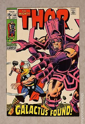 Thor (1962-1996 1st Series Journey Into Mystery) #168 VF 8.0