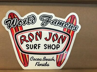 Ron Jon Surf Shop Cocoa Beach, Florida Sticker World Famous