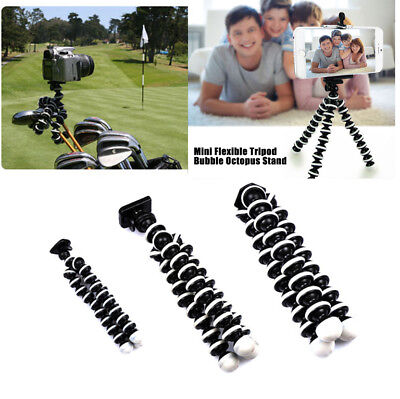 Mini Flexible Octopus Tripod Bracket Holder Mount for Phone Camera iPhone DSLR