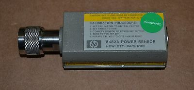 HP Agilent 8482A RF Power Sensor 100kHz-4.2GHz, -30 to +20dbm Tested GOOD