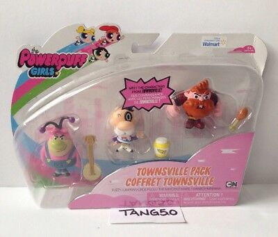 New Power Puff Girls Townsville Pack Store Exclusive Characters 6pc Play Set NIP