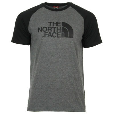 Vêtement T-Shirts The North Face homme Raglan Easy Tee taille Gris Coton