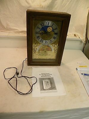 """Vintage """"the Time To Plant"""" Burpee Planting Clock With Original Operating Book"""