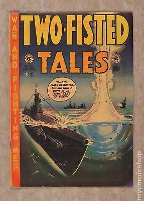 Two Fisted Tales (1950 EC) #32 VG 4.0