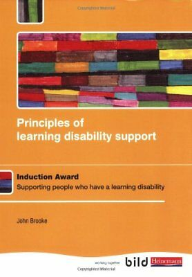Principles of learning disability support: Study Book,Mr John Brooke