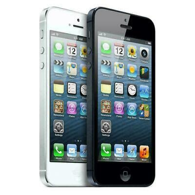 Apple iPhone 5 16GB 32GB 64GB Factory GSM Unlocked Smartphone - Black or White