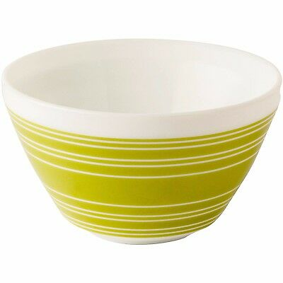 Retro Pyrex Vintage Charm 3 Cup Mixing / Cereal Bowl Retro Avacado Lime Green