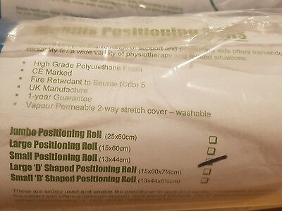 Mobilis Small Foam Positioning Roll Cushion  Pillow