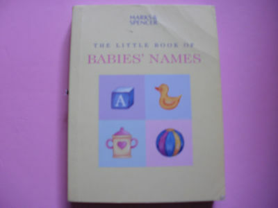 The Little Book of Baby Names
