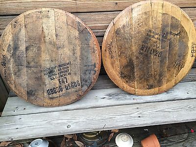 100% Authentic Kentucky Bourbon Barrel Head whiskey real wood natural free ship
