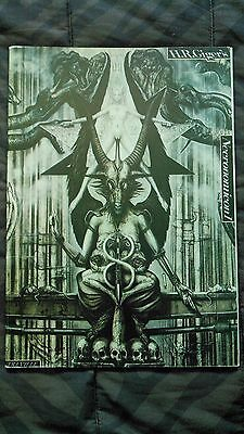 HR Giger Necronomicon 1 softcover 1984 Japanese print (RARE) very early edition