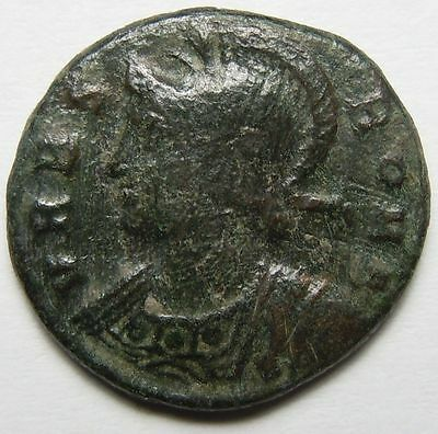 She-wolf Romulus and Remus Commemorative Ancient Roman Coin Constantine I