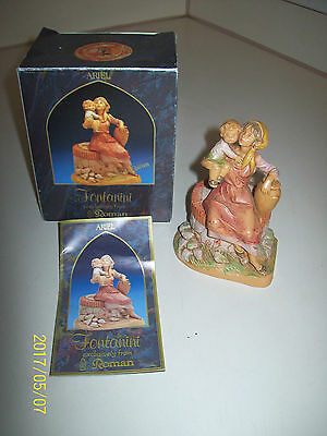 ARIEL FIRST EDITION of PRESEPIO COLLECTION #65187 FONTANINI 5 INCH NATIVITY