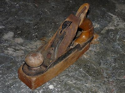 Vintage Bailey Wood Sole Stanley Rule and level Co No. 35 Smooth Plane