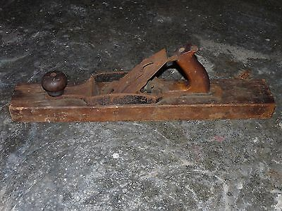 Vintage Bailey Wood Sole Stanley Rule and level Co No. 29 Fore Plane