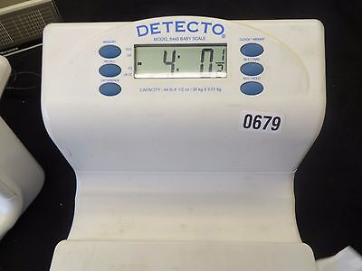 Detecto 8440 Digital Infant Baby Toddler Scale for parts.