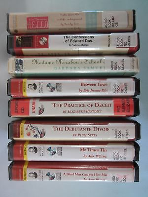 Lot of 8 Mixed General Fiction Audiobooks on CD