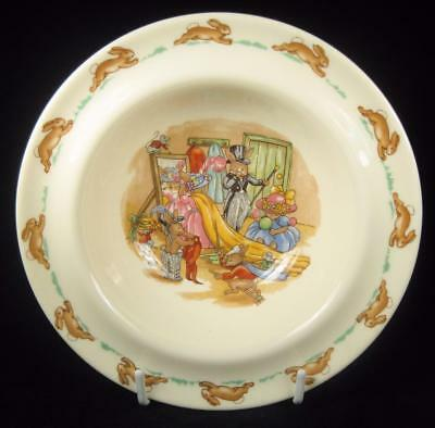 Royal Doulton Bunnykins 'Dressing Up' Bowl 1968-75