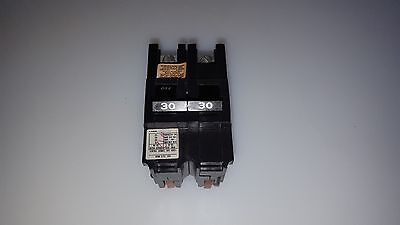 FPE Federal Pacific Challenger NA230 Stab-Lok 30 Amp 2-Pole Circuit Breaker